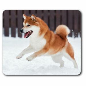 Computer Mouse Mat - Shiba Inu Akita Dog Puppy Pet Office Gift #12883 | eBay