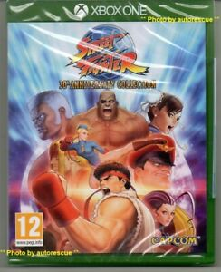 Street-Fighter-30th-Anniversary-Collection-039-New-amp-Sealed-039-XBOX-ONE-1