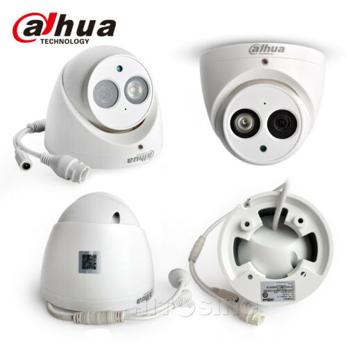 DAHUA 8CH SECURITY SYSTEM HD 6MP POE IP CAMERAS KIT TURRET WIRELESS AUDIO RECORD