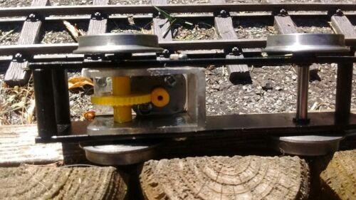 Garden Railway Sm32 locomotive Chassis 6v motor iron machined wheels.