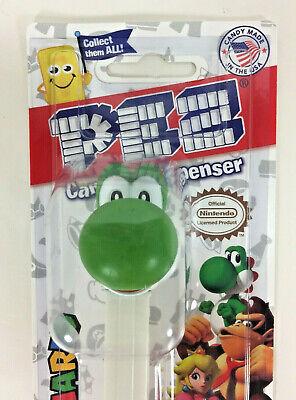 Carded SUPER MARIO Pez Dispenser  YOSHI