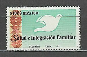 Mexico - Mail 1991 Yvert 1359 MNH