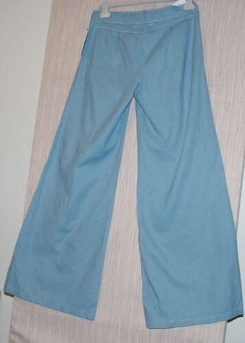 Girl 10 Nwt Leg Sound 31 Pants Blue Light Beyond Women Wide Størrelse 7RxRF
