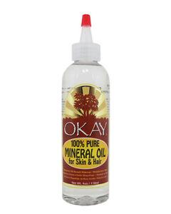 Ok 100 Puro Aceite Mineral Para El Tratamiento De La Piel Y El Cabello 4oz Ebay