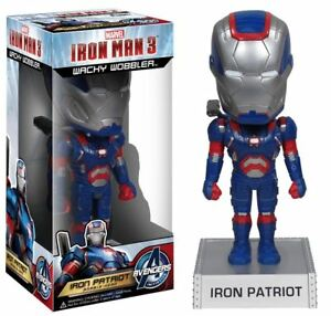 Iron Man 3  Iron Patriot Wacky Wobbler BobbleHead - Dunstable, Bedfordshire, United Kingdom - Iron Man 3  Iron Patriot Wacky Wobbler BobbleHead - Dunstable, Bedfordshire, United Kingdom