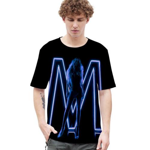 Mariah Carey Women Men 3D Printed Short Sleeve Tee Tops T-Shirt