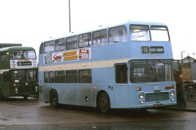Cambus No.630 ex Maidstone Cambridge Station 1985 Bus Photo