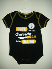 YOU PICK SIZE * NFL Pittsburgh Steelers Baby Infant Toddler Girls Dress