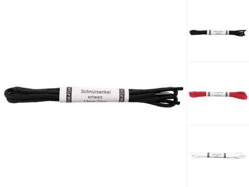 MFH Schnürsenkel Schuhbänder Nylon Schuhband Schwarz Weiß Rot 70//190//210cm