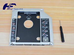 9-5mm-Universal-Optical-bay-2nd-HDD-Hard-Drive-Caddy-SATA-f-Apple-Macbook-Pro-US