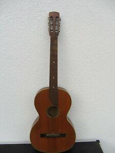 Audacieux Ancienne Guitare Wandergitarre Environ 92 Cm-afficher Le Titre D'origine