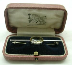Antique-Silver-And-Citrine-Bar-Brooch-With-Box
