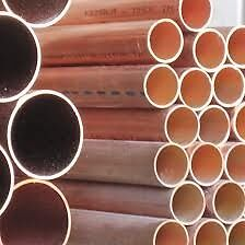 "2 1/2"" Type K Copper Pipe, Hard"