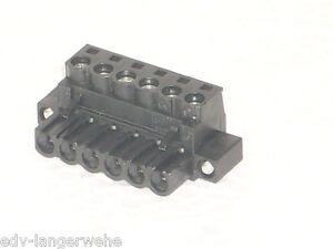 Weidmueller-Leiterplattensteckverbinder-6polig-2-5mm-1-STK