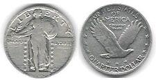 USA 1/4 $ Standing Liberty 1923, siver quarter dollar - Fine (mo12)