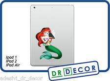 Adesivo Sirenetta per Apple Ipad 1- Ipad 2 - Ipad Air Stickers  Ipad