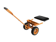 New Worx Aerocart Wagon Conversion Kit with Seat Yard Garden Hay Utility Cart