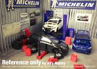 Model Car/Slot Car Scale Garage Workshop Accessory+Auto Lift 1:64 Custom S-Scale
