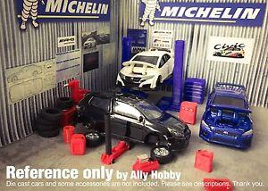 Model CarSlot Car Scale Garage Workshop AccessoryAuto Lift 164