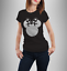Ladies-t-shirt-disney-inspired-Minnie-mouse-T-shirt-various-GLITTER-colours thumbnail 6