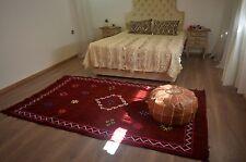 handmade moroccan rug azilal carpet beni ourain beber Large cotton and wool rug