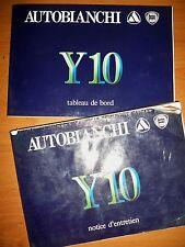 LANCIA Y10 - Notice d'entretien (manuel utilisation carnet entretien emploi)