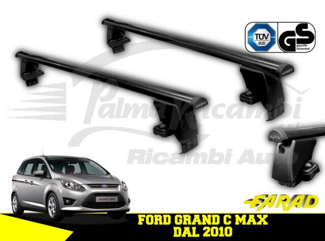 BARRE PORTATUTTO PORTAPACCHI FARAD NEW IRON PER FORD GRAN C MAX 5P 2010/>