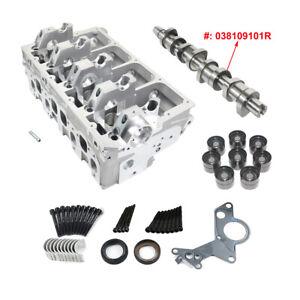 Zylinderkopf-mit-Nockenwelle-038109101R-Audi-VW-Seat-Skoda-1-9-TDI-03G103351C