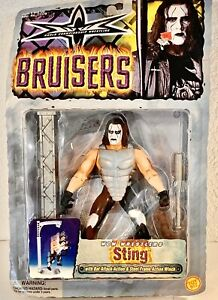 1999 WCW Sting Action Figure Used Wrestling