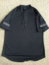 "Ex Police Black Wicker Shirt Changed For Security Use. Male Size 38""."