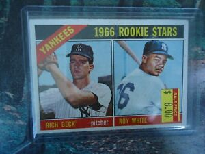 1966-TOPPS-ROOKIE-ROY-WHITE-NEW-YORK-YANKEES-NICE-CONDITION
