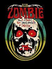ROB ZOMBIE cd lgo DEATH TOUR Official SHIRT XL New your dance partner is death