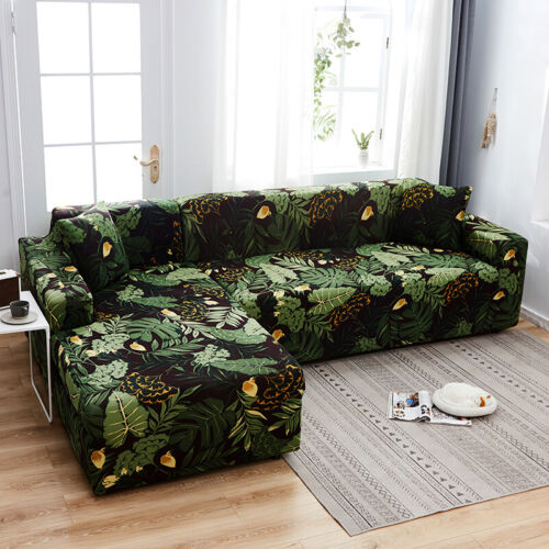 1X Pillowcase New 1//2//3//4 Seaters Stretch Sofa Slipcovers Couch Armchair Cover