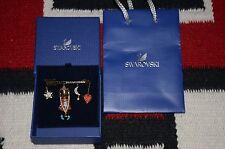 Swarovski Polly Crystal Multiple Shaped Fashion Jewelry Brooch Pin