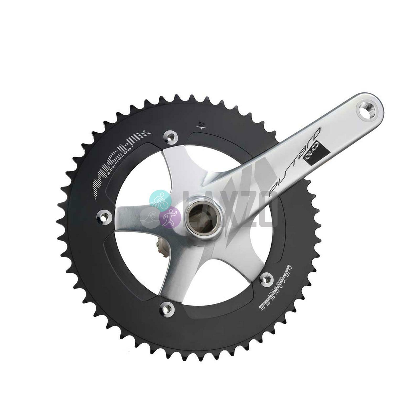 Miche Piestrellad 2.0 Set Catena 49T Aria 170 Bicicletta argentoo 1 Pezzi