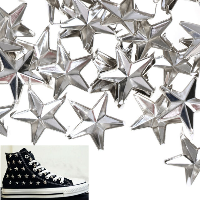 Decoration Rock Punk Star Rivets Leather Craft Spots Nailhead Studs Spikes