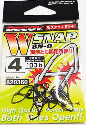 DECOY 2pack x W SNAP SN-6 #4 100lb