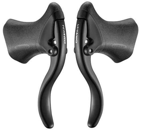 Tektro RL520 Aero Road Bike Brake Lever Set Linear Pull V-Brake or Disc Brake