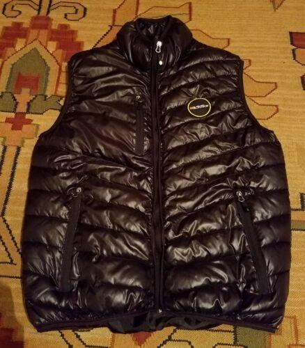 Activision Black Puffer Vest Mens medium Sleeveles