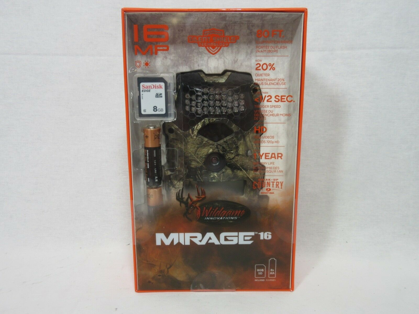 Wildgame  Innovations Mirage 16MP Trail Camera w  Batteries & SD Card  Camo  we take customers as our god
