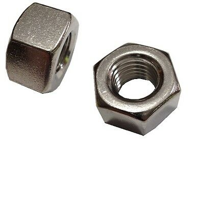 RH 50 Pcs of 3//8-16 x 1//4 Height x 5//8 W 18-8 Stainless Steel Hex Nut