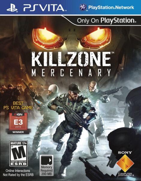 Killzone: Mercenary (Sony PlayStation Vita, 2013) for sale online | eBay