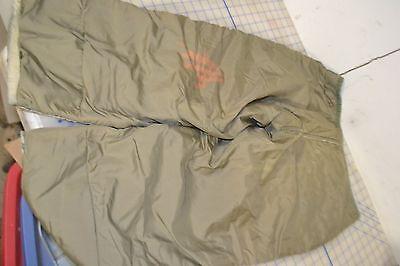 US Military Vintage M51 US ARMY Vietnam Era New  Frieze LINER Pants Small Wool