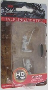 HALFLING FIGHTER male Nolzur's Marvelous Miniatures Unpainted D Dungeons Dragons