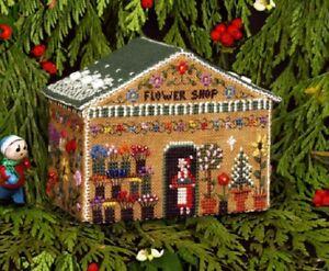 10/% Off Victoria Sampler X-stitch Chart//Pattern Gingerbread Retreat Cottage