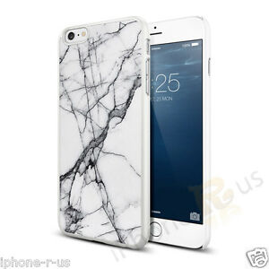 White-Black-Marble-Effect-Hard-Case-Cover-For-Various-Mobile-Phones