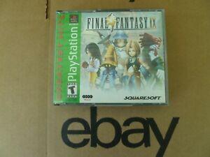 Final Fantasy IX (PlayStation, 2000) FF9 PS1, Green Label Greatest Hits