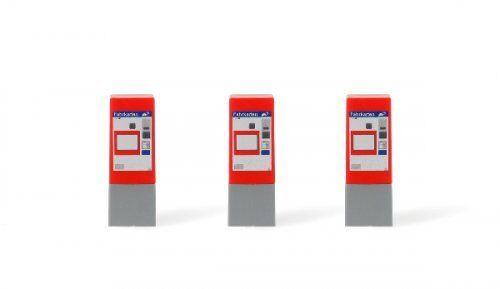 3 Stück AT Fahrkartenautomat ÖBB //// Spur N