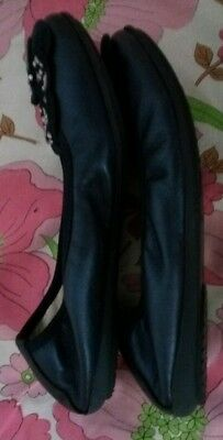 Valleverde Bailarina Niñas Azul Marino Talla Zapato Niños UK 13 EU 32 nos 1