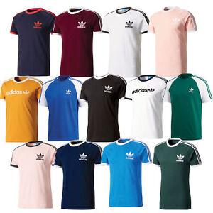 91fcabe4d2d La imagen se está cargando Nuevas-Adidas-Original-Trebol-California-camisa -de-cuello-